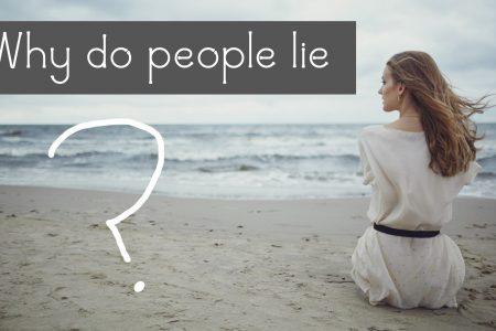 Leute lügen